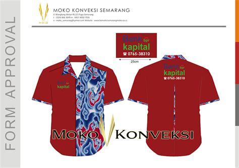 Baju Kerja Wearpack Kemeja baju kemeja kerja bpr kapital dumai riau konveksi semarang moko 024 8663649