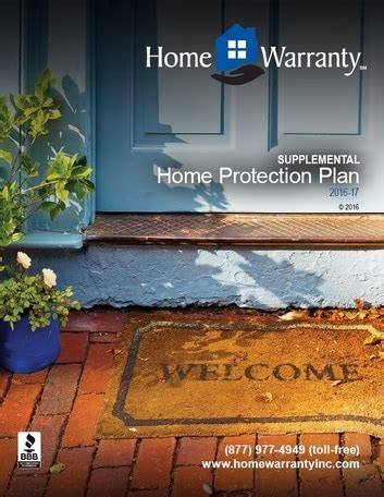 plans pricing home warranty