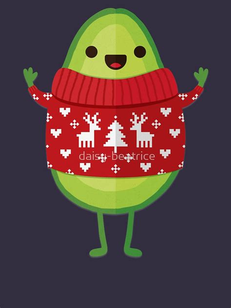 avocado merry christmas  shirt