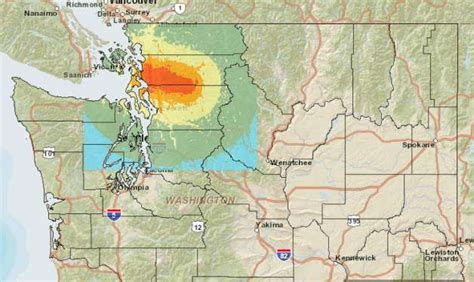 earthquake washington state canadian study confirms megathrust earthquake is due in nw