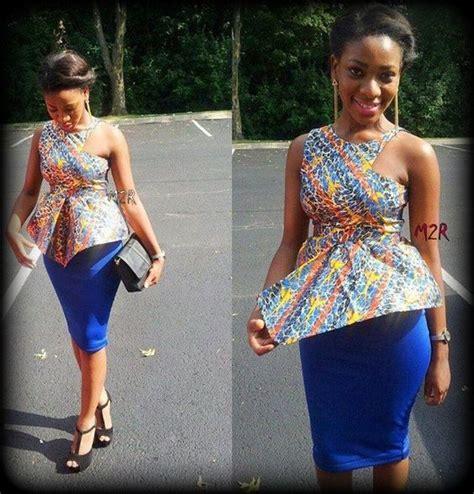 mode africaine un joli model de pagne wax leuk sngal haut en pagne et jupe droite le pagne africain