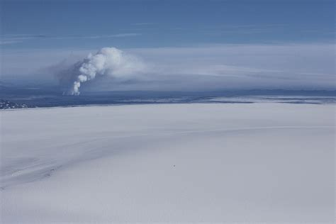 doodle zolfo eruzione bardarbunga incanto e violenza della natura
