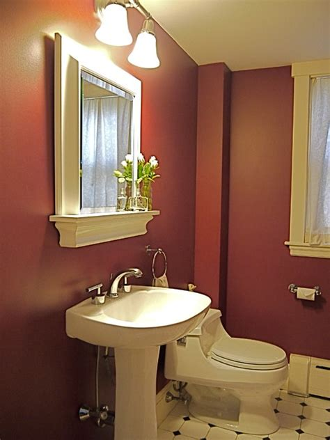 Bathroom Design Boston Burgundy Bath