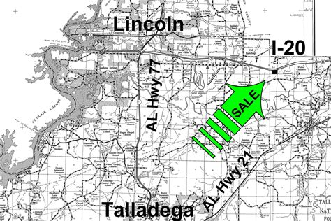 Talladega County Property Records 33 Acres In Talladega County Alabama