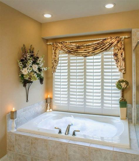 bathroom valance ideas top 49 ideas about bathroom curtains on voile