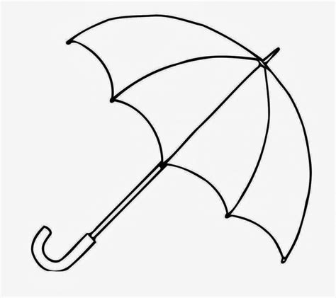 drawing template drawings of a umbrella clipart best