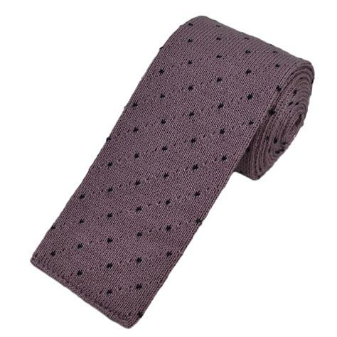 black knit tie lavender black polka dot knitted tie from ties