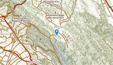 moraga california map best trails near moraga california alltrails