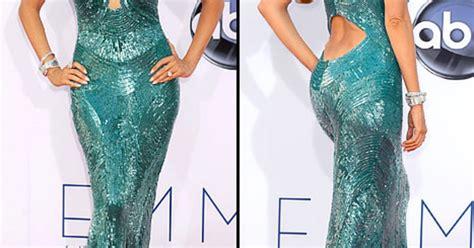 Sofia Vergara Wardrobe by Sofia Vergara Suffered Wardrobe At Emmys Us