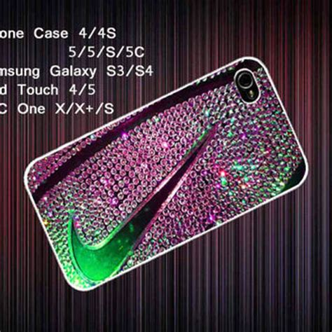 Nike Color Yellow Iphone Casing 4 4s 5 5s 5c Hardcase nike basketball just do it glitter cover from decryw on etsy