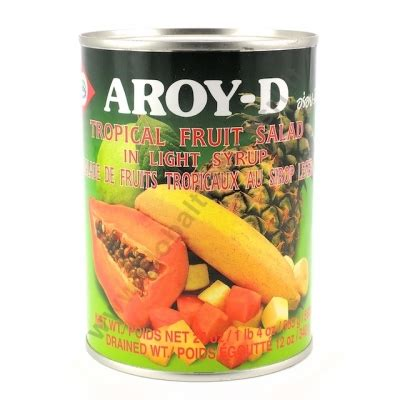 d fruit trading aroy d fruit salad frutti tropicali in sciroppo 24x565g