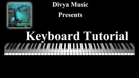 keyboard instrument tutorial instrument tutorials learn keyboard online divya music