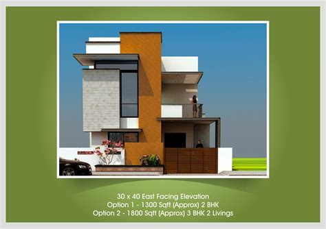 House Design 30x50 Site by East Facing House Plan 30x50