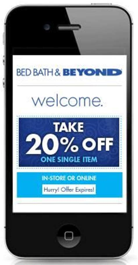 mobile bed bath and beyond coupon 1000 images about bed bath beyond coupons on pinterest
