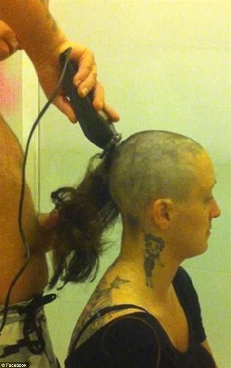 bald ladies in prison ex fianc 233 of alleged cancer faker elle edmunds sentenced