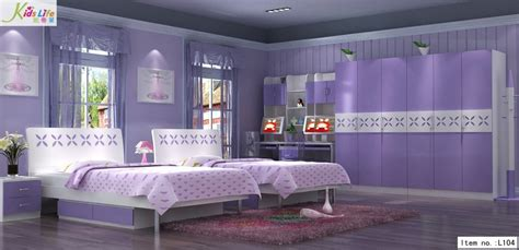 purple bedroom furniture china romastic purple world kids bedroom furniture sets