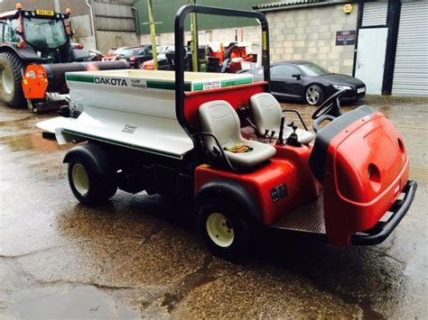 Top Dresser Hire by Toro Workman With Dakota Top Dresser Availble For Hire