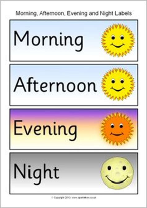 imagenes de good morning good afternoon night clipart morning afternoon evening pencil and in