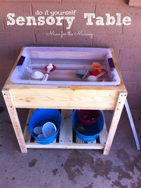 Diy Sensory Table by Sundae Scoop Top 20 I Nap Time