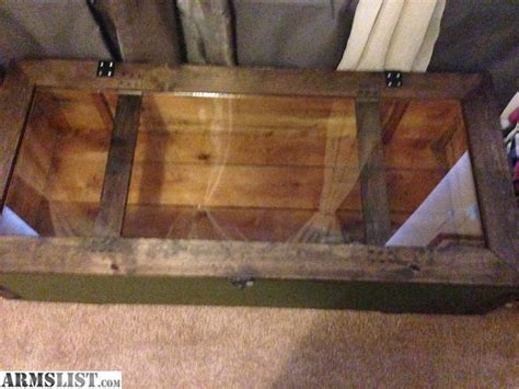 mosin crate coffee table armslist for sale mosin rifle crate coffee table
