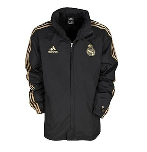 Parka Bola Real Madrid Army 2011 12 real madrid adidas allweather jacket black for only a 51 80 at merchandisingplaza au