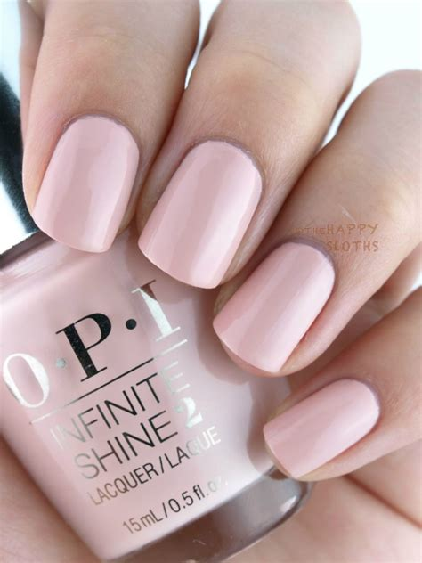 blushing pink color opi you re blushing again infinite shine summer 2015