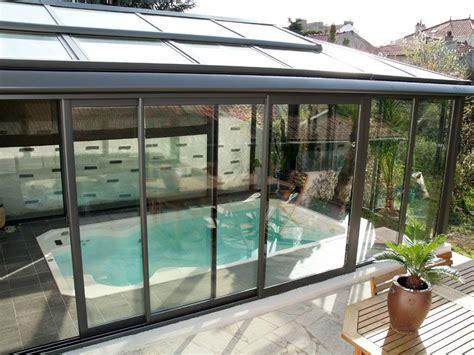 ingresso villa phili veranda aluminium piscine correspondant