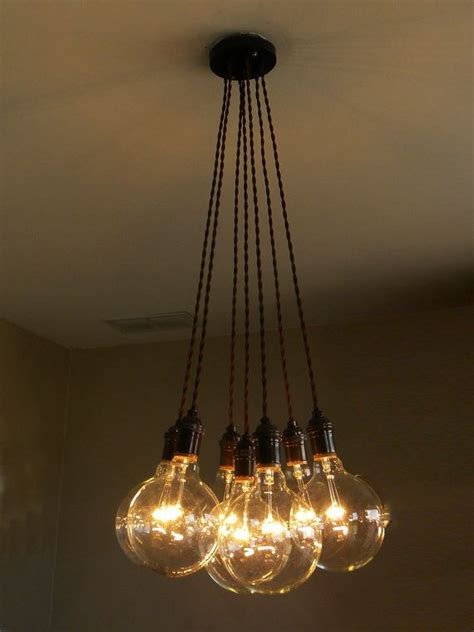 Hanging Bulb Chandelier 17 Best Ideas About Edison Bulb Chandelier On Edison Bulb Light Fixtures Rustic