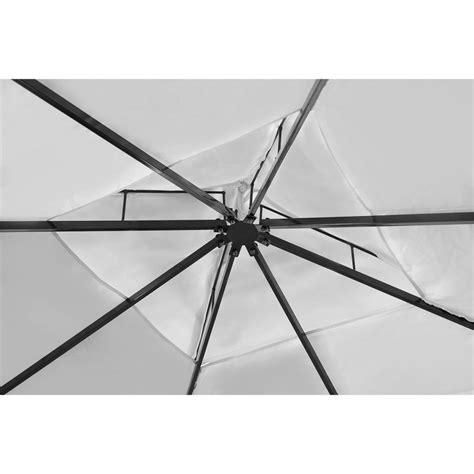 gartenpavillon 3 x 4 vidaxl gartenpavillon aus poly rattan mit cremewei 223 em dach