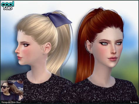sims 2 female hair tsr the sims resource anto paraguay hair bows
