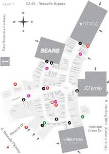 westfield galleria at roseville mall map my christmas
