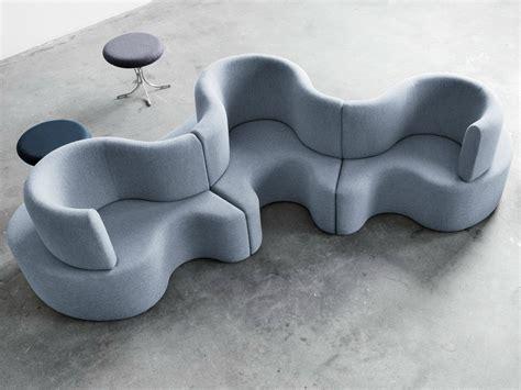 Modular Furniture Design sectional modular fabric sofa cloverleaf by verpan design
