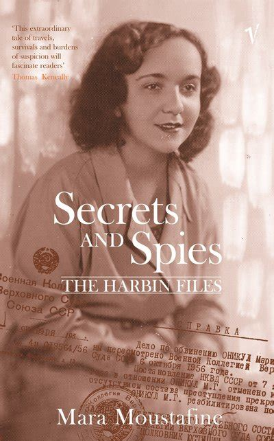marã a edition books secrets and spies by mara moustafine penguin books australia