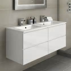 Bathroom Basins And Vanities by White Basin Bathroom Vanity Unit Sink Storage