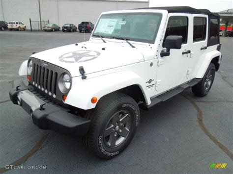 Oscar Mike Jeep Wrangler Bright White 2013 Jeep Wrangler Unlimited Oscar Mike