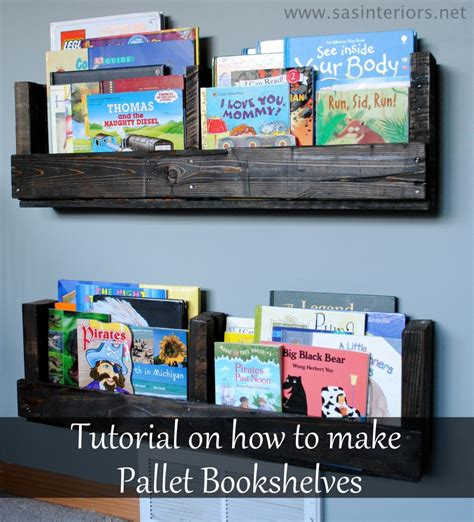 diy pallet bookshelf sas interiors the inspired room