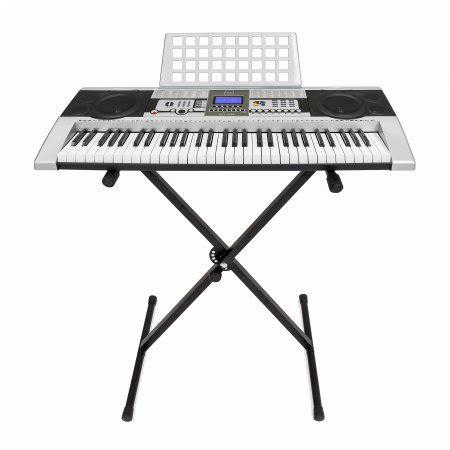 Musical Bronze Dust Keyboard Aksesoris Hp electronic piano keyboard 61 key key board piano with x stand heavy duty walmart