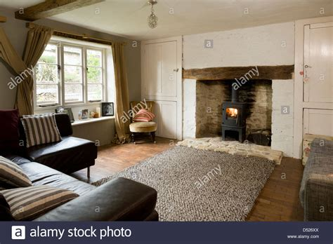 Cottage Livingrooms a small cottage living room with period features and