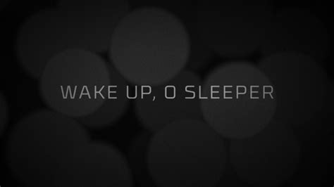 Awake Awake O Sleeper by Up O Sleeper Centerline New Media