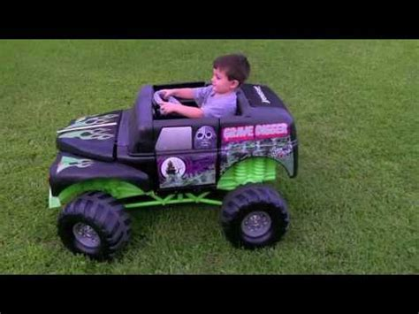 power wheels grave digger truck grave digger power wheels