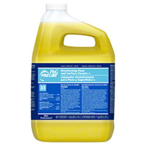 Disinfecting Hospital Floors - pro line 174 33 disinfectant finish floor cleaner gal closed