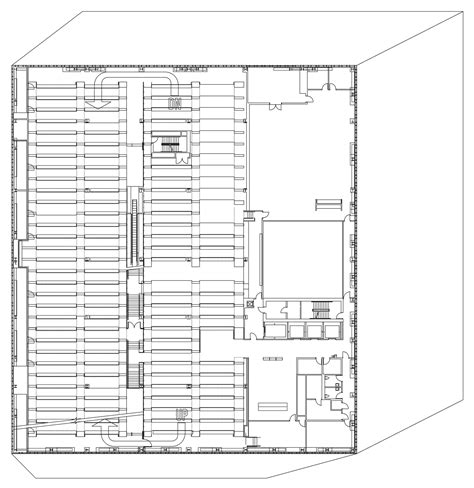 seattle public library floor plans gallery of seattle central library oma lmn 40