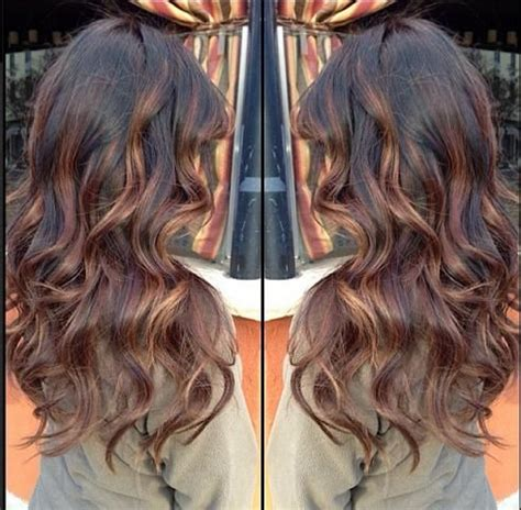 balayage ombre highlights on dark hair top 10 balayage highlights ideas hair color hair fashion