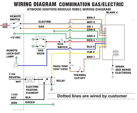 atwood water heater wiring help irv2 forums