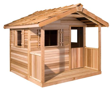 Small Log Cabin Plans With Loft kids outdoor playhouses wooden playhouse kits childrens