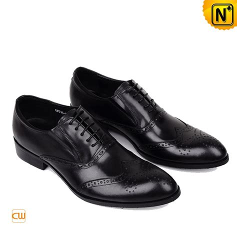 leather shoes for black italian leather brogue shoes for cw764075