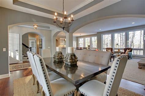 Open Floor Plan With Dining Room Open Floor Plan Discover Crossing Model Home