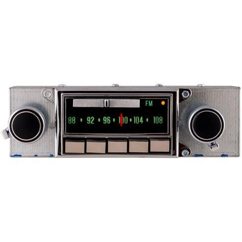 1969 1971 corvette radio with bluetooth oe replica