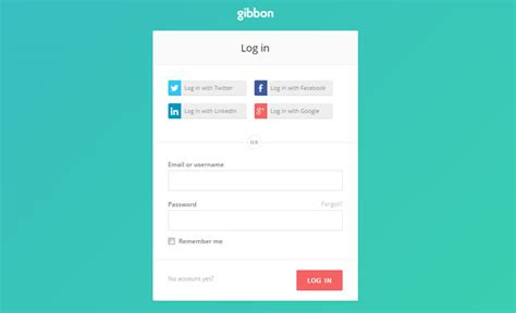 login layout customize social logins how to design and implement them