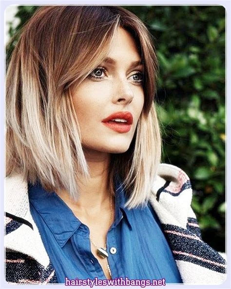 Medium Womens Hairstyles by 2018 Hairstyles For Medium Hair With Bangs And Layers